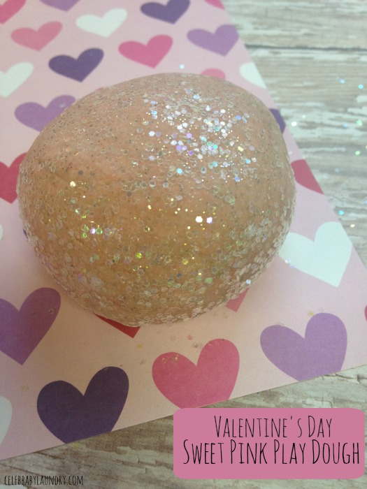 Valentine's Day For Kids: Sweet Pink Play Dough