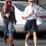 Reese Witherspoon & Ava Enjoy Healthy Shakes
