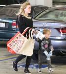 Hilary Duff & Luca Go Grocery Shopping