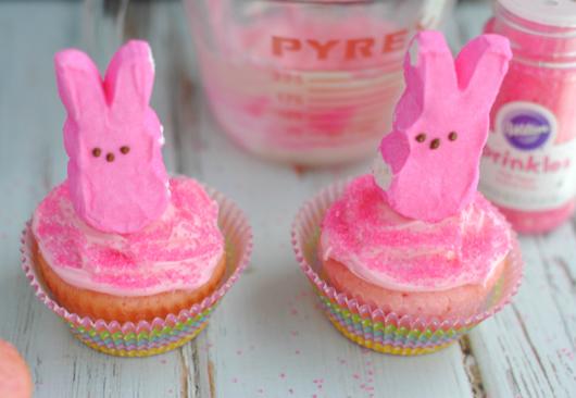 Peep Easter Cupcakes