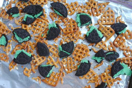 St. Patrick's Day Mint Oreo Bark