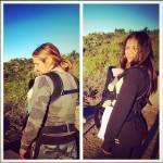 Zoe Saldana Takes a Hike With the Whole Family