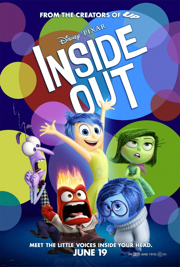 Easter Party Ideas – Celebrate With Disney's 'Inside Out' Activities - Disney Pixar Inside Out Promo Poster
