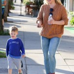 Hilary Duff and Luca Enjoy Play Date After Cosmo Marriage Interview (Photos)