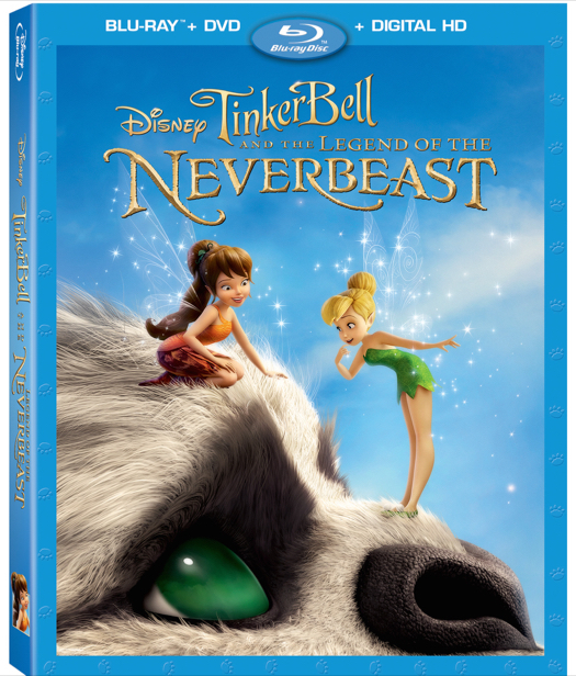 Tinker Bell and the Legend of the NeverBeast Blu-Ray + DVD #Review