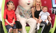 Exclusive... Gwen Stefani Takes Her Boys To See The Easter Bunny