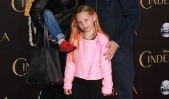 Jason Priestley Takes his Family to the Premiere of Disney's Cinderella