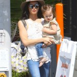 Jenna Dewan-Tatum Enjoys a Sunny Day With Everly