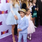 Jennifer Lopez Takes Max & Emme to the HOME Premiere
