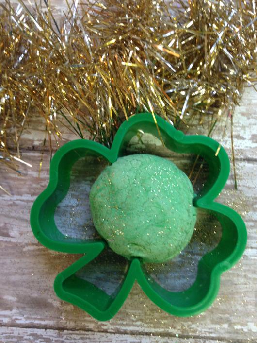 Lucky Leprechaun Lime Play Dough