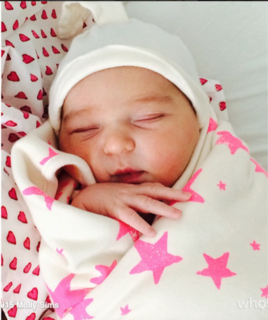 Molly Sims & Scott Stuber Welcome Scarlett May
