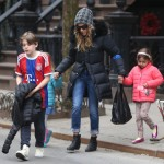 Sarah Jessica Parker Visits the Empire State Building for her Birthday