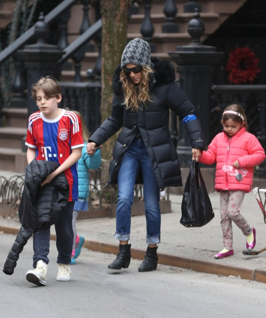 Sarah Jessica Parker Celebrates Her 50th With Her Kids