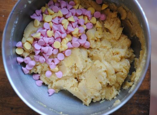Spring Mix Lemon Cookies