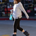 Pregnant Zooey Deschanel Stays Active With Pilates