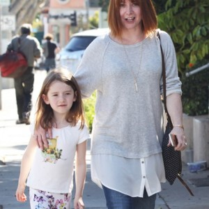 Alyson Hannigan Out With Her Daughter In Santa Monica