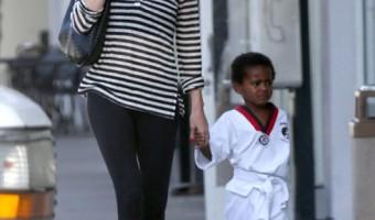 Charlize Theron Picks Up her Karate Kid