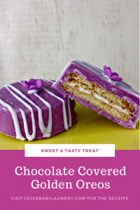 Sweet & Tasty - Chocolate Covered Golden Oreos