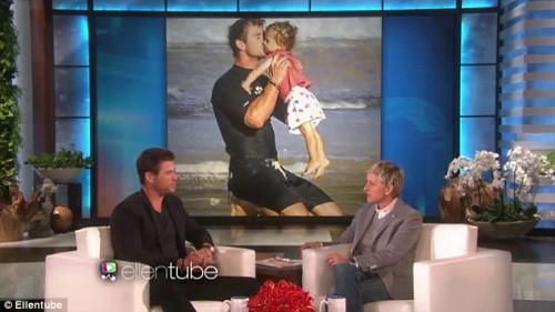Chris Hemsworth on Ellen