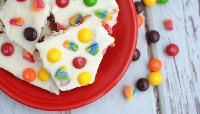 Skittles Rainbow Bark Kids Will Love