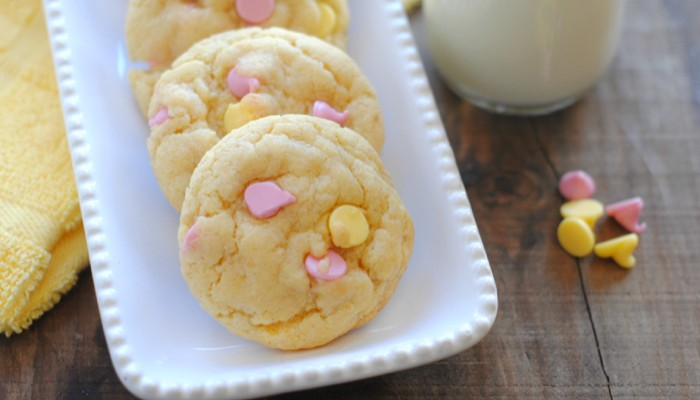 Spring Mix Lemon Cookies The Whole Family Will Love