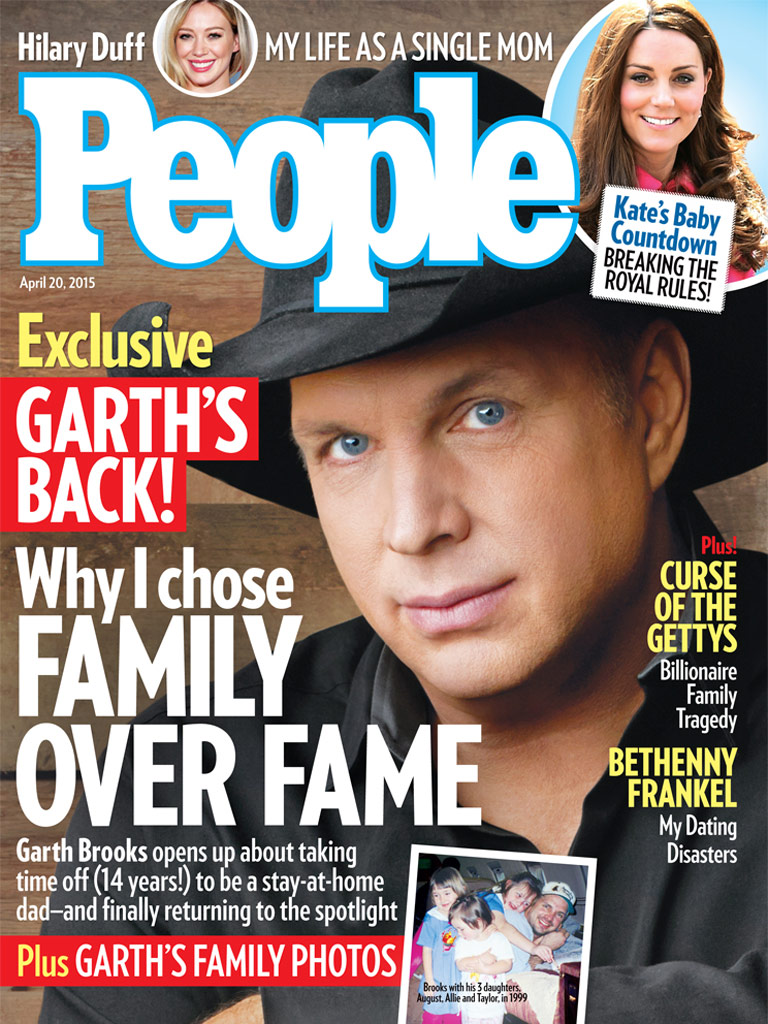 Garth Brooks People Magazine