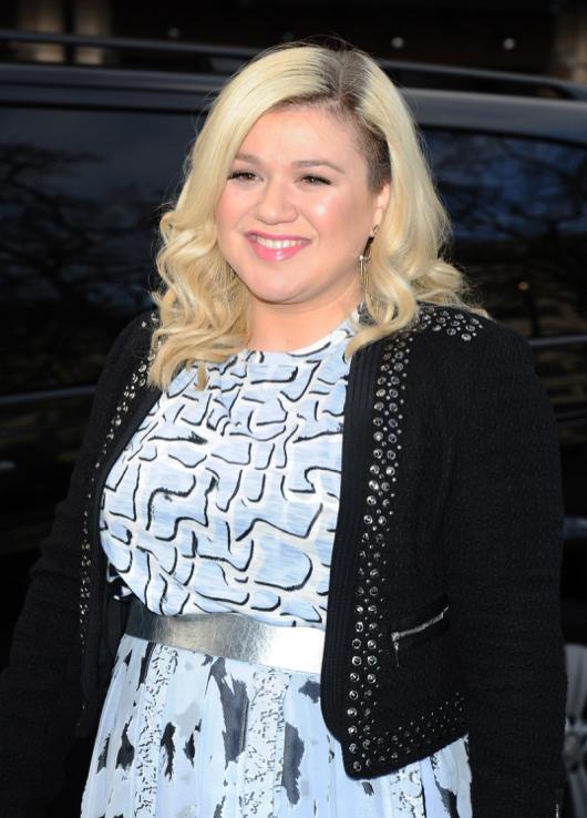 Kelly Clarkson Visits Capital FM Studios