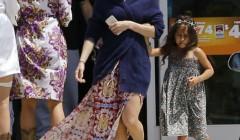 Jennifer Lopez & Casper Smart Head Out For A Family Trip