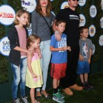 Mark Wahlberg & Family Attend the 2015 Kids Safe Day Event