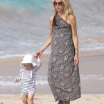 Rachel Zoe Vacations in St. Barts With Family