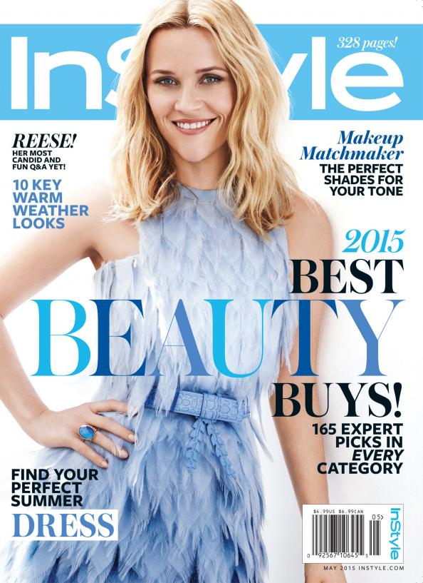 Reese Witherspoon Covers InStyle Magazine