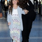 Salma Hayek & Valentina Take Flight