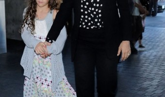 Salma Hayek & Valentina Take Flight
