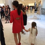 Victoria Beckham Takes 'Best friend' to her Spring Collection Launch
