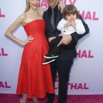 Jaime King Shows off Baby Bump with Family at Barely Lethal Screening