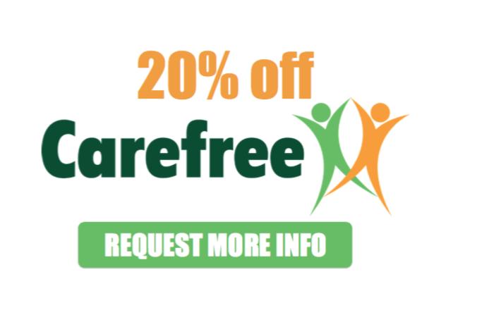 CareFree 20% off