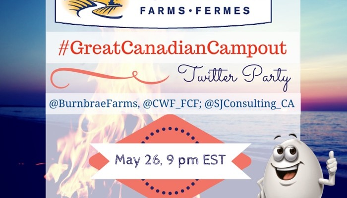 Join the #GreatCanadianCampout Twitter Party & Win Prizes