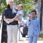 Gwen Stefani Heads to Church on Mother's Day