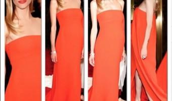 Pregnant Jaime King Stuns in Strapless Dress