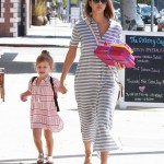Jessica Alba & Honor Attend Birthday Party