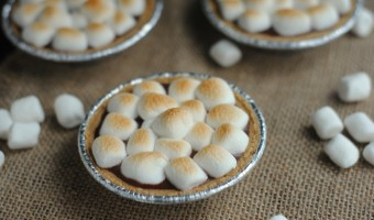 Bring Camping Home With Mini S'mores Pies