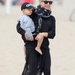 Fergie: Beach Funday With Axl