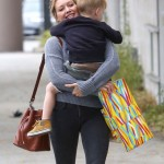 Hilary Duff & Luca: Party Saturday
