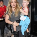 Hilary Duff & Ex Mike Comrie Dine With Luca at Craig's