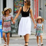 Jessica Alba & Family Enjoy Father's Day in the City