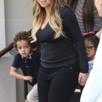 Mariah Carey Enjoys a Paris Day With her Twins