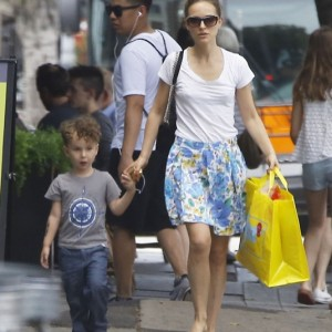 Exclusive... Natalie Portman Out And About With Her Family In Los Angeles