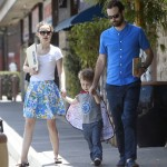 Natalie Portman Has a Family Day