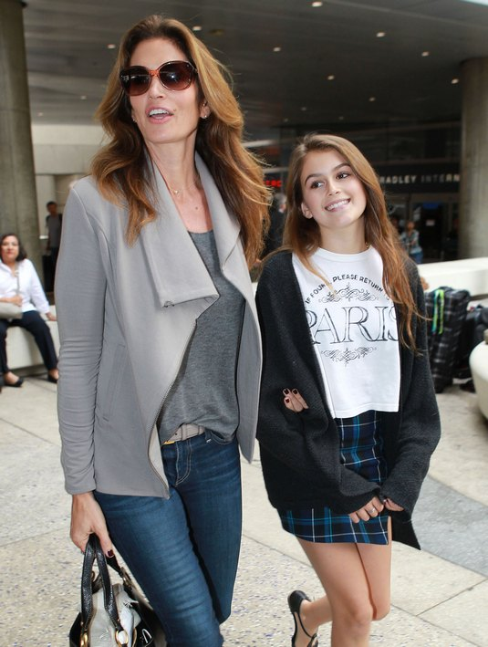 Cindy crawford pregnant-4352