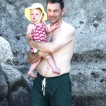 Jimmy Kimmel Vacations in Ischia
